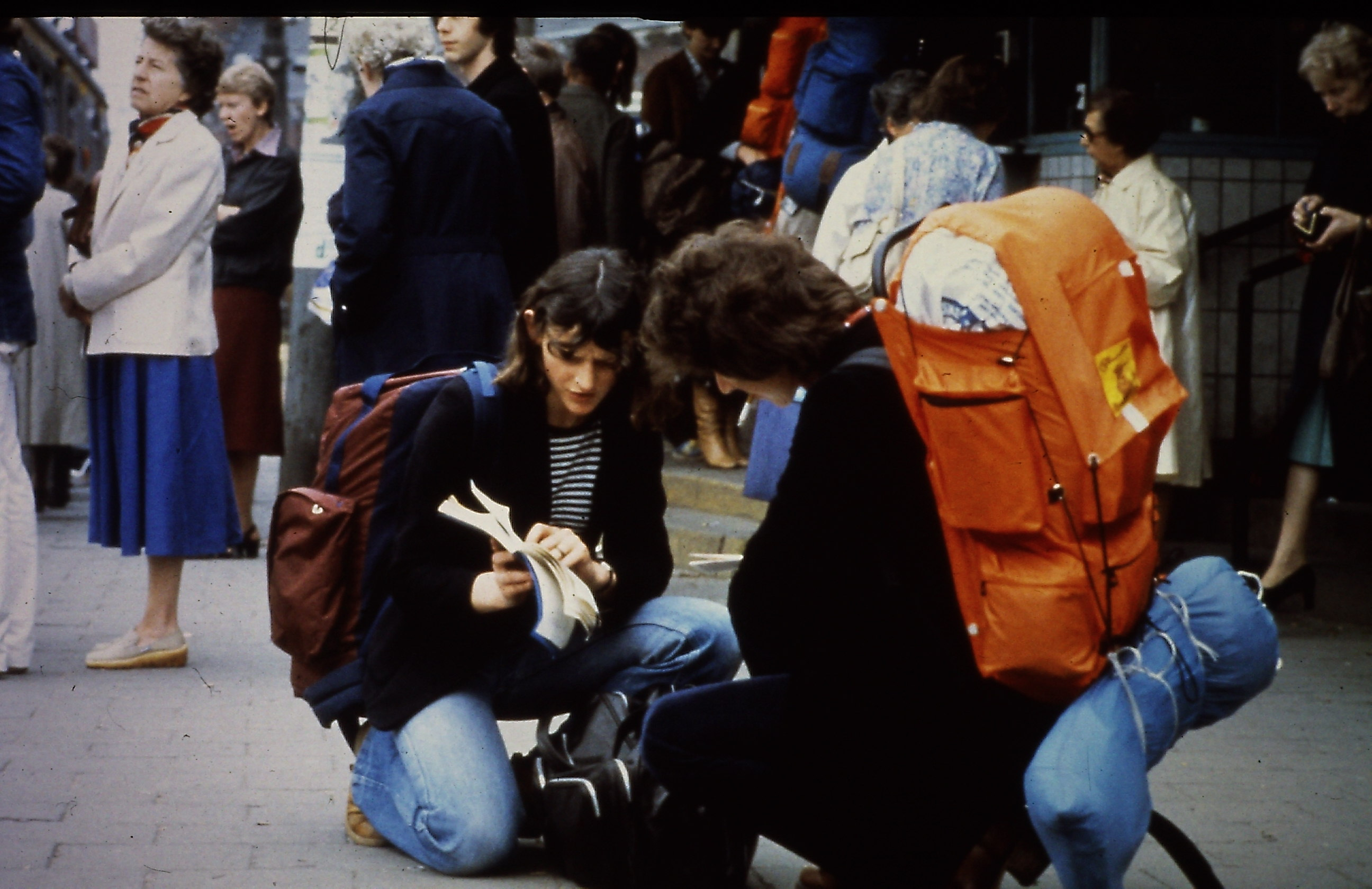 Sharing the gospel with a backpacker in the 80's