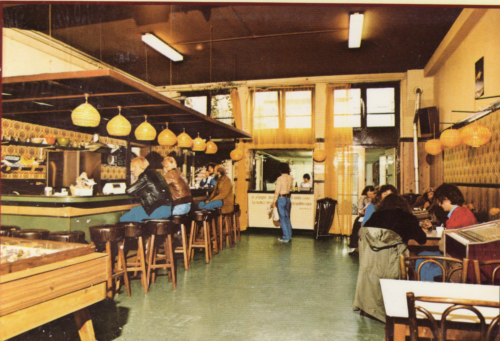 The Shelter Jordan cafe back in the 80's