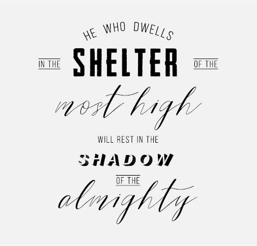 Psalm 91:1 | Core of the Youth Hostel Ministry in Amsterdam | Finding Shelter under God's wings