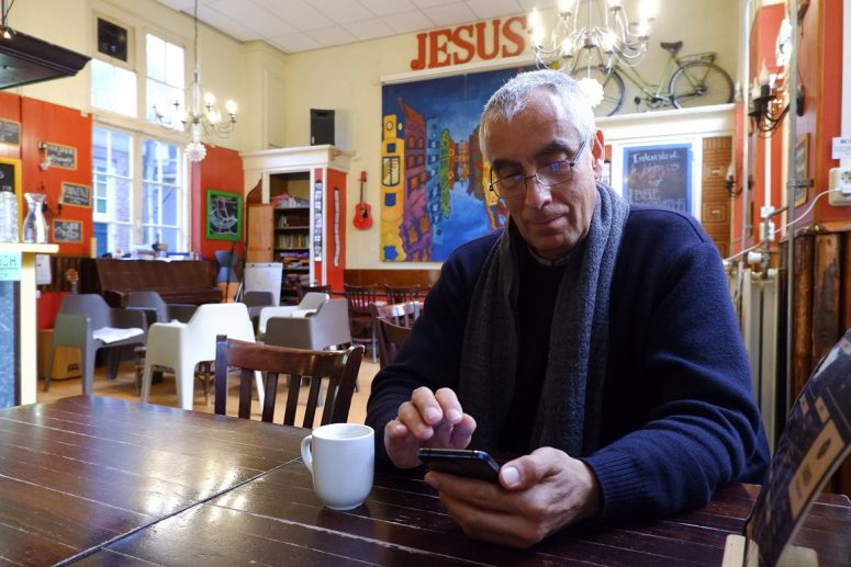 Interview with a guest in our hostel ministry, Amsterdam